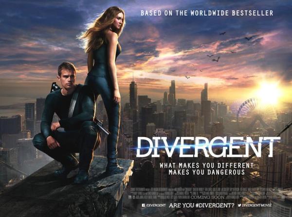 Cartel de Divergente