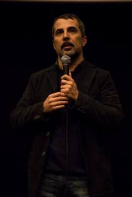 Francesco Munzi en la presentación de su film 'Anime Nere' en la MCIB.