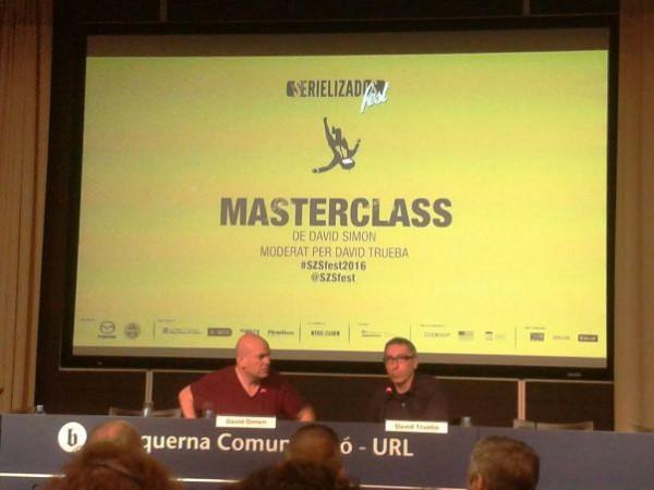 Simon y Trueba en la masterclass