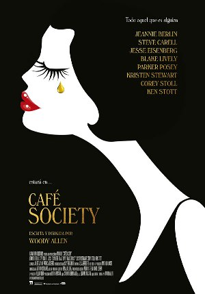 Cartel de Café Society de Woody Allen