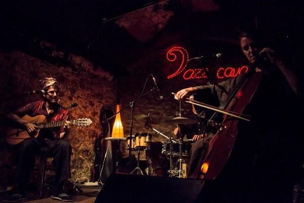 Concierto Guillem Roma y su banda en el Jazz Cava.