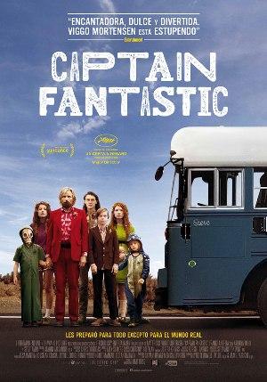 Captain Fantastic - cartel de la película en español
