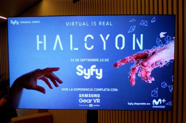 Presentación de serie realidad virtual Halcyon