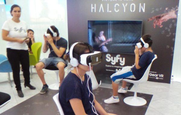 Halcyon serie de realidad virtual