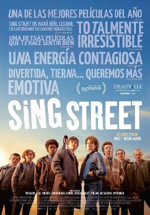 Sing Street - cartel de cine en español
