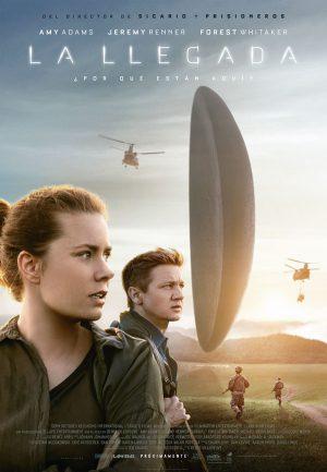 La llegada - cartel de cine