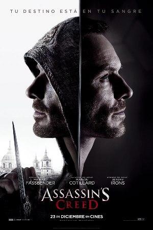 Assassin's Creed - cartel de cine