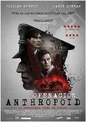 Operación Anthropoid - cartel de cine