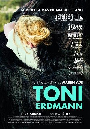 Toni Erdmann - cartel de cine
