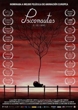 Psiconautas, los niños olvidados - cartel de cine
