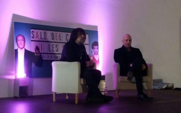 Juan Cruy y Roberto Álamo en el Salón del Cine - Desde el sofá
