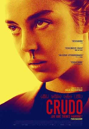 Crudo - cartel de cine