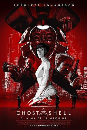 Ghost in the Shell: el Alma de la Máquina - cartel de cine en español