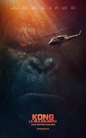 Kong: La isla calavera - cartel de cine
