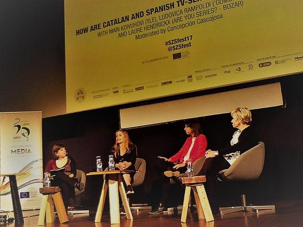 Serielizados Fest - Charla mujeres sesión PRO