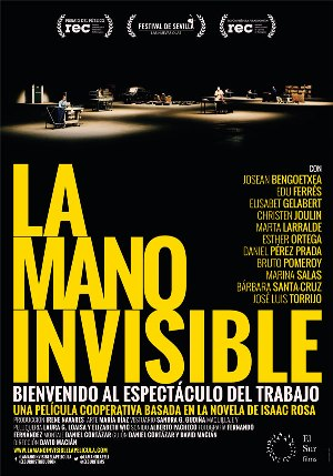 La mano invisible - cartel de cine