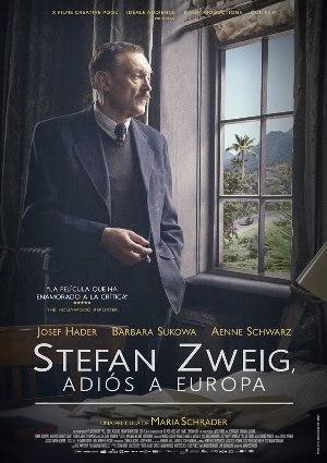 Stefan Zweig: Adiós a Europa - cartel de cine
