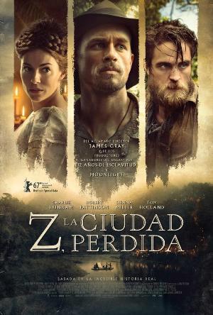Z, la ciudad perdida - cartel de cine