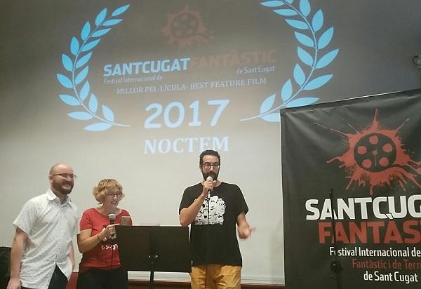 Entrega premios Sant Cugat Fantàstic 2017