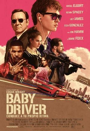 Baby Driver cartel de cine