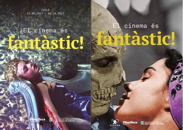 Cartel ciclo y exposición Festival de Sitges 50 aniversario