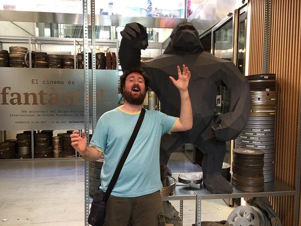 Gorila exposición 50 años del Festival de Sitges