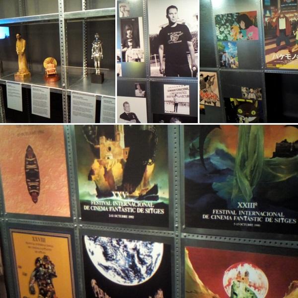 Paneles diversos expo 50 años del Festival de Sitges