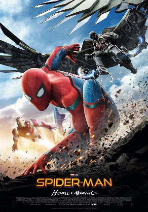 Spider-Man: Homecoming - cartel de cine