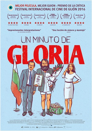 Un minuto de gloria - cartel de cine