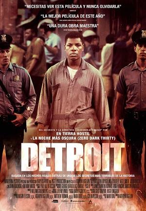 Detroit - cartel de cine