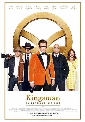 Kingsman: El círculo de oro - cartel de cine