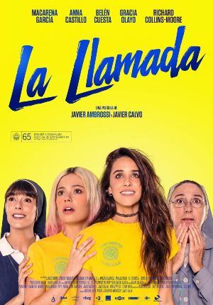 La llamada - cartel de cine