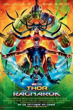 Thor: Ragnarok - cartel de cine