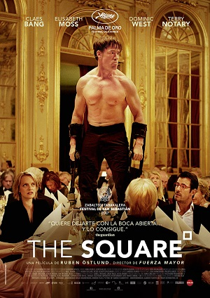 The Square - cartel de cine