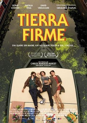 Tierra firme - cartel de cine