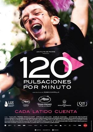 120 pulsaciones por minuto - cartel de cine