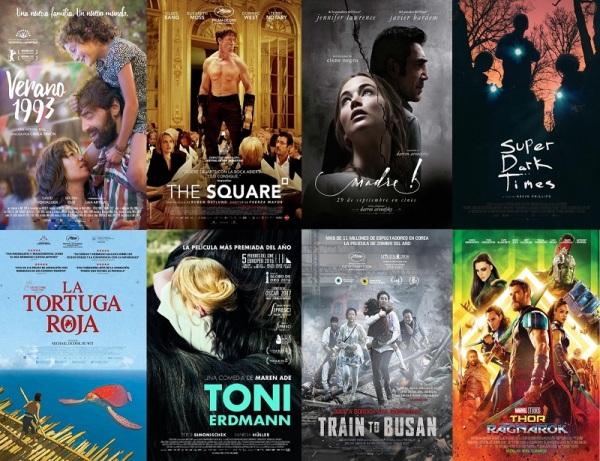 Resumen 2017 - Mejores películas