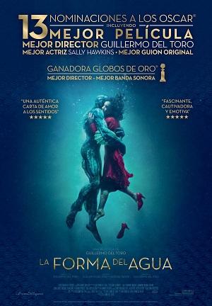 La forma del agua - cartel de cine