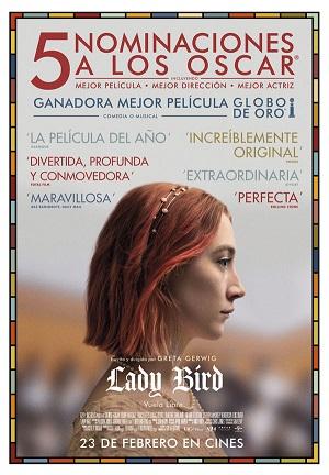 Lady Bird - cartel de cine