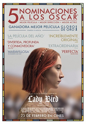 Lady Bird - cartel de cine