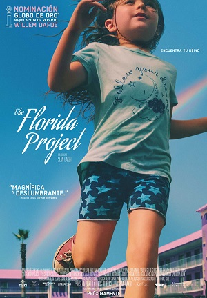 The Florida Project - cartel de cine