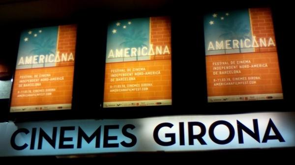 Cartelera Cinemes Girona durante la Americana 2018