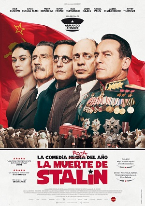 La muerte de Stalin - cartel de cine