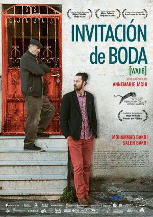 Invitación de boda - cartel de cine