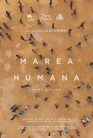 Marea humana - cartel de cine