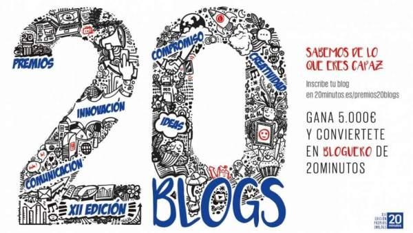 Premios 20Blogs - XII Edición 2018