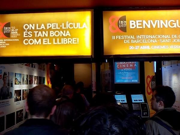 BCN Film Fest 2018 - Entrada Cinnes Verdi