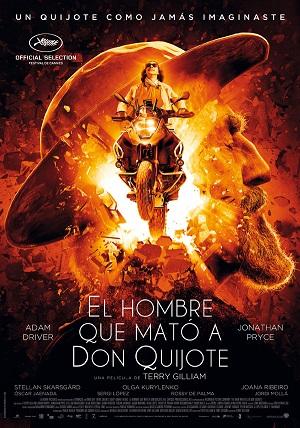 El hombre que mató a Don Quijote - cartel de cine