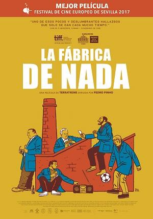 La fábrica de nada - cartel de cine