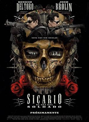 Sicario: El día del soldado - cartel de cine
